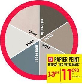 Papier peint offre à 13,9€