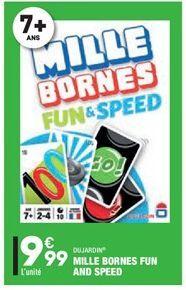 Mille bornes fun and speed offre à 9,99€