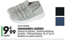 Chaussures légères offre à 9,99€