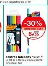 """Feutres Intensity """"BIC""""  offre à 6,29€"""