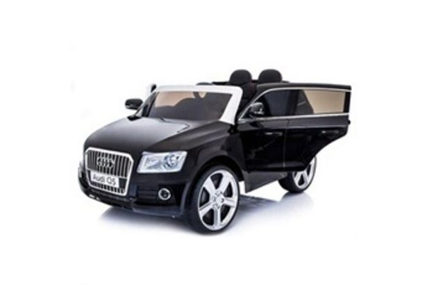 Véhicule électrique Q5 - voiture éléctrique enfant - noir Audi offre à 199€