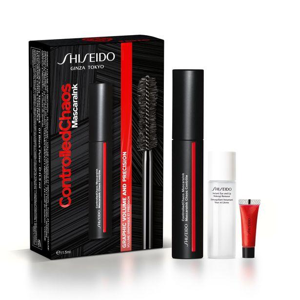 Shiseido COFFRET MASCARAINK CHAOS CONTRÔLE Coffret mascara offre à 23,03€