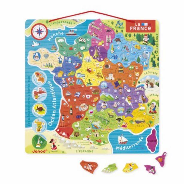 Puzzle France magnétique                 offre à 21,99€