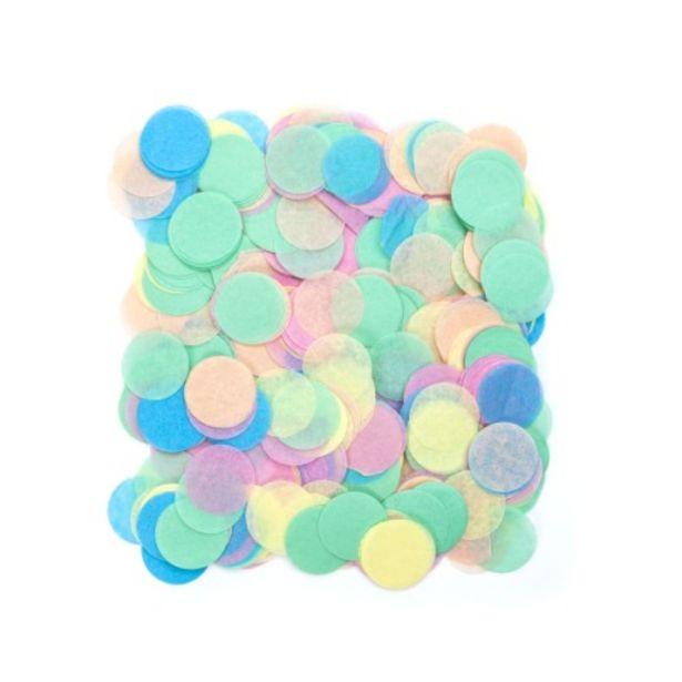 Sachet confettis multicolores offre à 1,99€