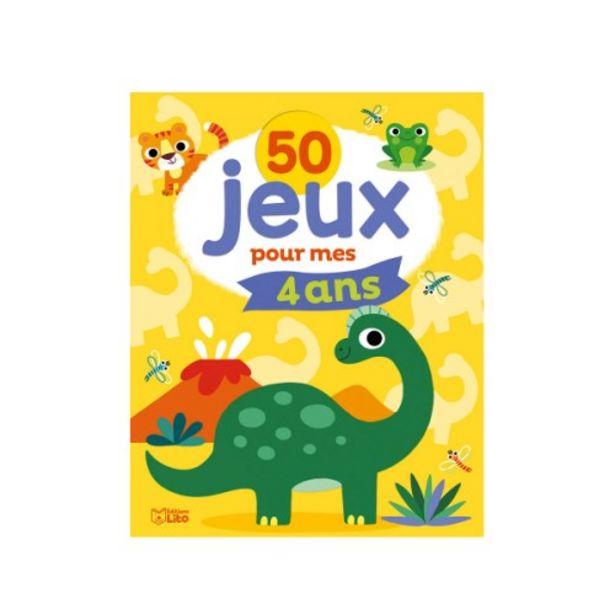 Livre 50 jeux pour mes 4 ans offre à 5,9€