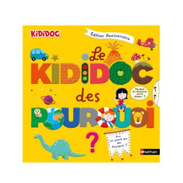 Livre Le kididoc des pourquoi collector offre à 16,95€