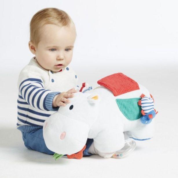 Peluche d'activités Axel l'hippo offre à 25,99€