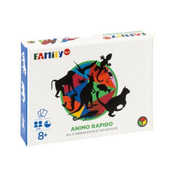 Jeu de cartes Animo rapido offre à 9,99€