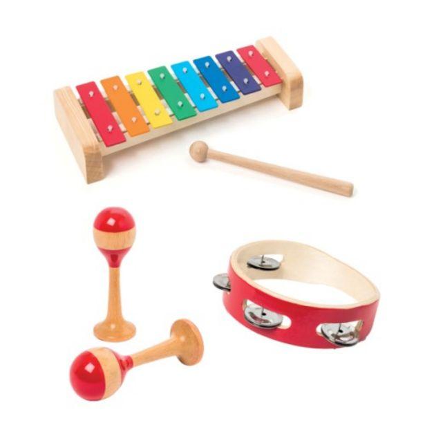 Coffret de 3 instruments de musique                 offre à 27,99€