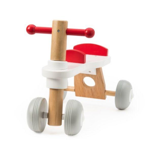 Porteur bois 4 roues offre à 31,99€