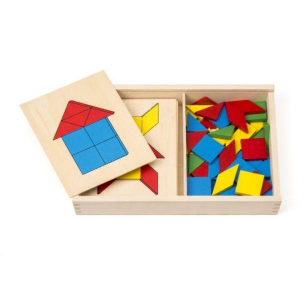 Jeu de tangram et de reconnaissance des formes  offre à 15,99€