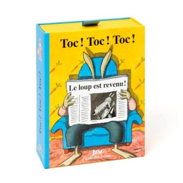 Jeu de cartes Toc toc toc offre à 7,19€