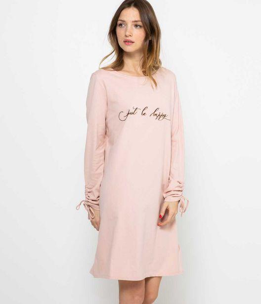 T-shirt long homewear femme offre à 7,99€