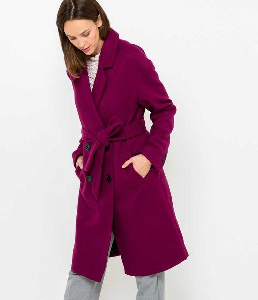 Manteau long femme offre à 55,99€