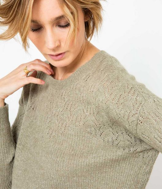 Pull femme col rond offre à 29,99€