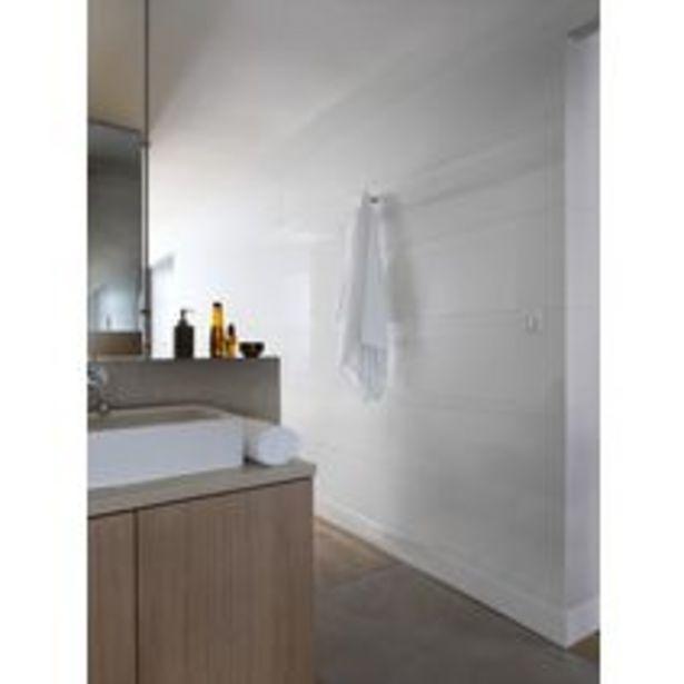 Lambris PVC ELEMENT WHITE aboutable blanc brilla… offre à 11,69€