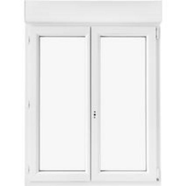 Fenêtre oscillo-battante Pria PVC avec volet rou… offre à 279€