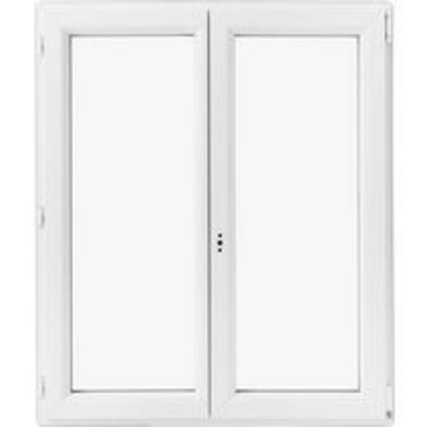 Fenêtre oscillo-battante Pria PVC offre à 134€