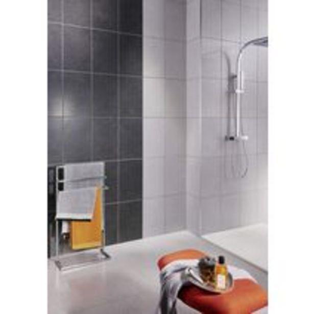 Carrelage murs RHODIUM uni gris 27 x 42 cm offre à 14,32€