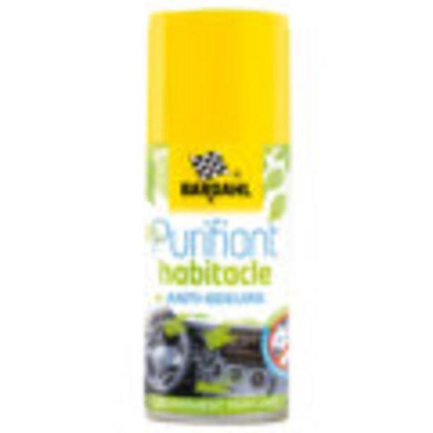 Désinfectant habitacle BARDAHL 125 ml offre à 719€