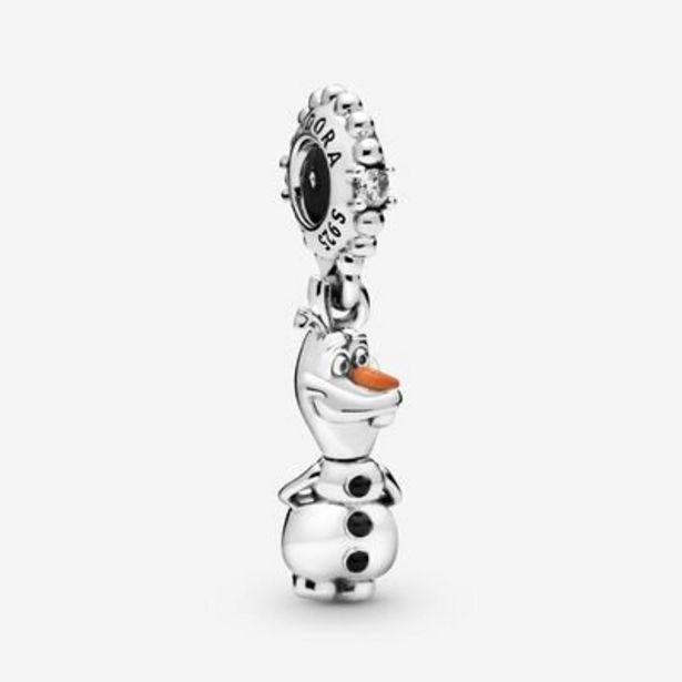 Charm Pendant Disney La Reine des Neiges Olaf offre à 59€