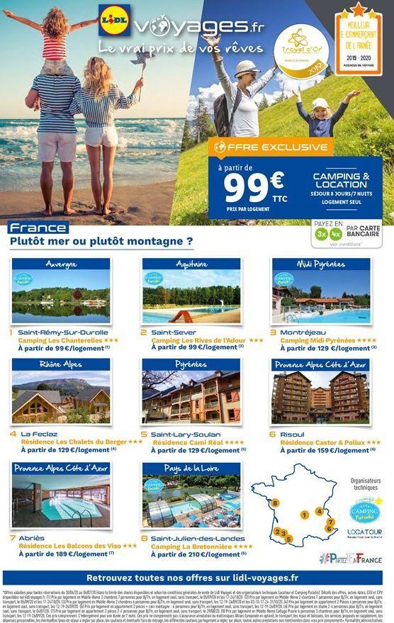 Voyages offre à 99€