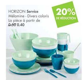 HORIZON service  offre à 0,4€
