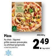 Pizza offre à 2,49€
