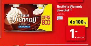 Chocolats Nestlé offre à 1€