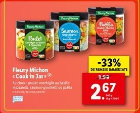 Fleury Michon cook in jar offre à 2,67€