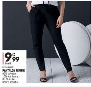Pantalon femme offre à 9,99€