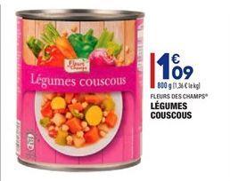 Légumes Couscous offre à 1,09€