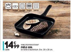 Poêle gril offre à 14,99€