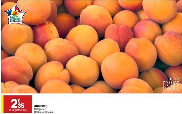 Abricots offre à 2,35€