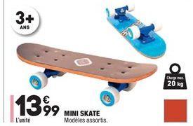 Mini skate offre à 13,99€