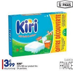 Kiri offre à 3,99€