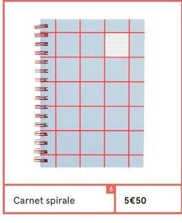 Carnet offre à 5,5€