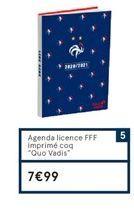 Agenda offre à 7,99€