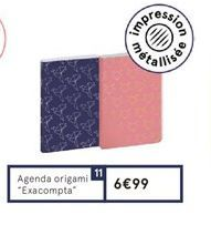 Agenda offre à 6,99€