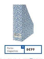Porte-magazines offre à 8,99€