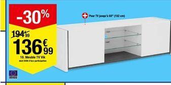 Meuble TV Vik offre à 136,99€