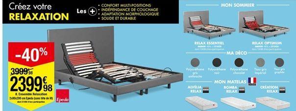 Ensemble Relaxation  offre à 2399,98€