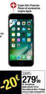 Smartphone Apple iPhone 7 32 Gb Reconditionné Noire offre à 279,99€
