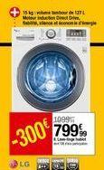 Lave-linge hublot LG offre à 799,99€