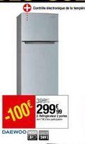 Réfrigérateur Daewoo offre à 299,99€