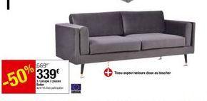 Canapé 3 places Baker offre à 339€