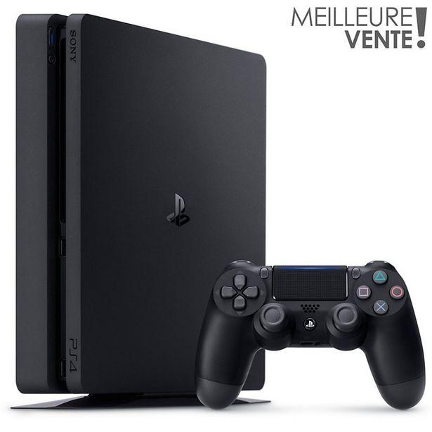 Console PS4 Sony PS4 1To Noire Reconditionnée offre à 259,99€