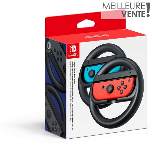Accessoire Nintendo Paire de Volants Joy-Con offre à 14,99€