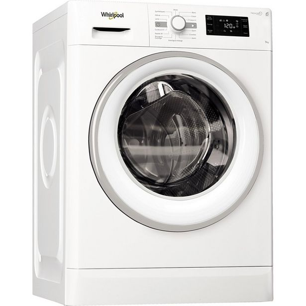 Lave linge hublot Whirlpool FWG 91484 WSFR FRESHCARE + offre à 399€