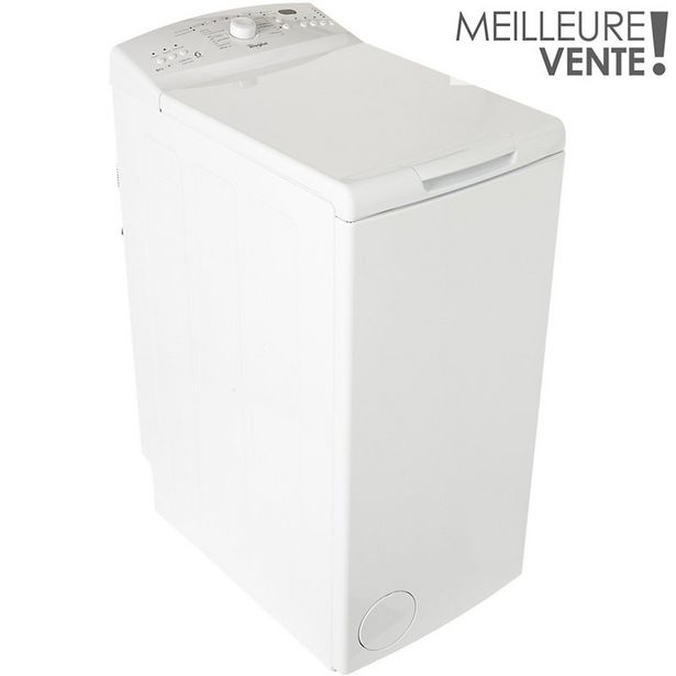 Lave linge top Whirlpool AWE6235 offre à 399€